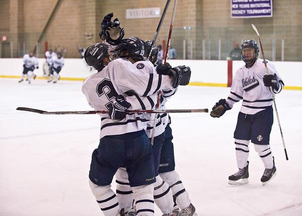 1/3/2009 - Cushing - Nobles Boys Varsity Hockey vs Pomfret