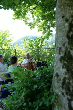 Burg-Picknick