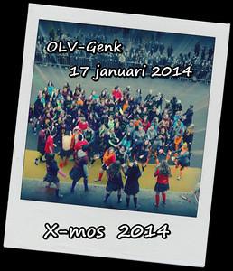 X-mos @ OLV Genk 17/01/14