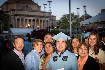 Derek's Columbia Graduation