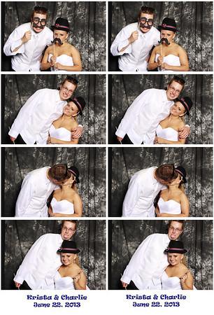 Freese-Murphy Wedding Booth