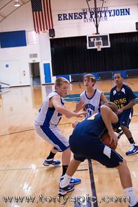 Westside VS New Hope 7th Grade Boys 6 Dec 2010