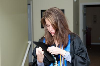 Rachael's Masters Graduation