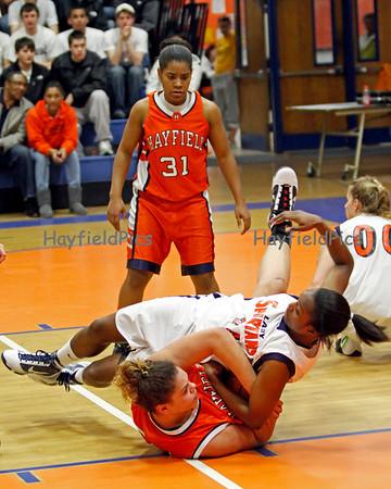 Girls Basketball West Springfield 2/24/10