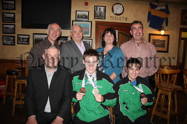 Celebrations for the Success in Kick Boxing for the Walsh Family