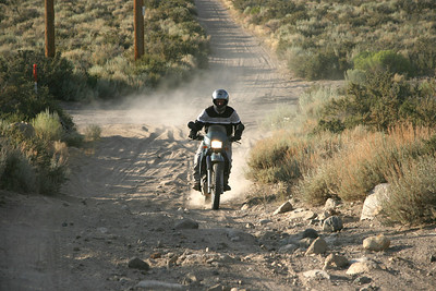 AdvRider WMRS V near Mammoth, August 2009