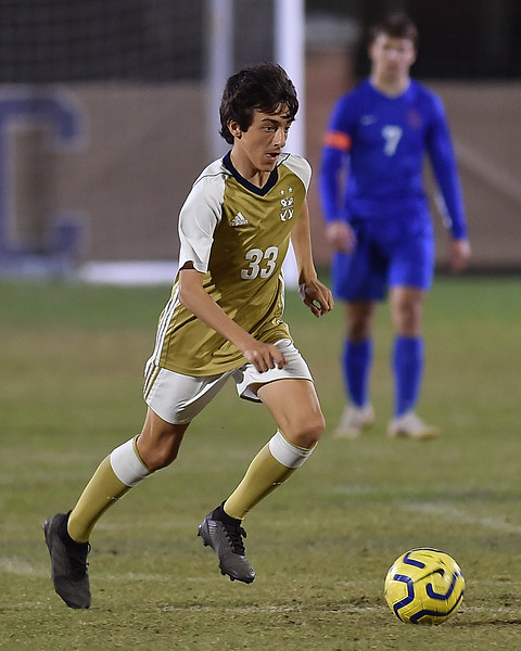 Soccer vs. Country Day (Senior Night) - pic by Pat Garin 2/3/2020