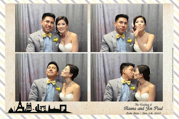 Hanna and JP's Wedding Photo Booth Prints