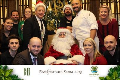 Beau Chene Breakfast with Santa 2019