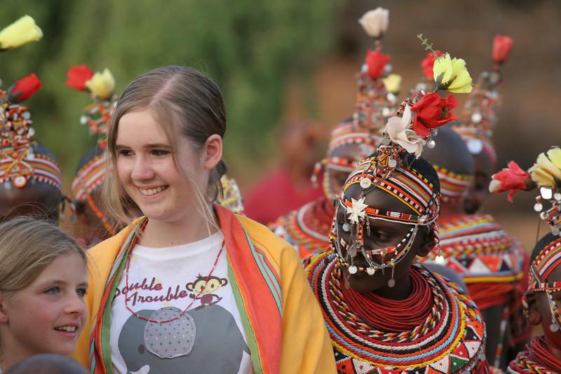 Sara and Audrey with Samburu Girls at Goat Ceremony RCC 243.jpg