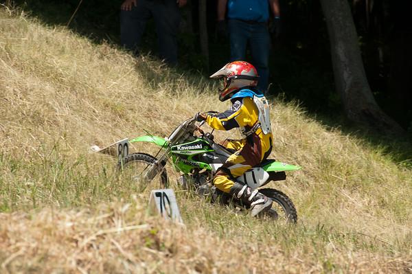 Kettle Moraine Sport Riders Motorcycle Hill Climb 2012 Kewaskum, WI