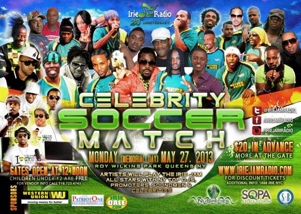 Celebrity Soccer Match (5.27.13)