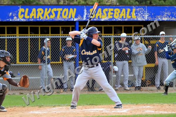 2010 Clarkston JV Baseball vs Rochester Adams