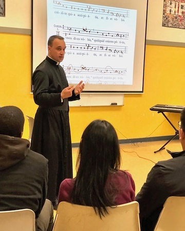 Sacred Music Workshop, November 10, 2018