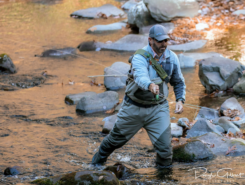 What Could Be Finer Than Fly Fishing in a Mountain Stream?