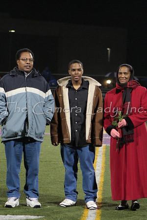 CHCA 2009 Fall Sports Senior Night 10.16