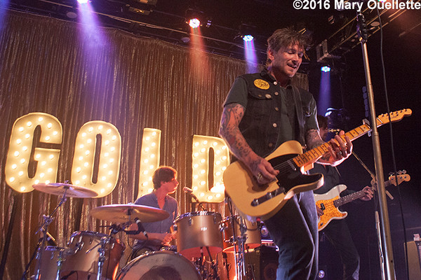 Butch Walker & the Aftermath at the Sinclair in Cambridge, MA on September 1, 2016 - ©Mary Ouellette