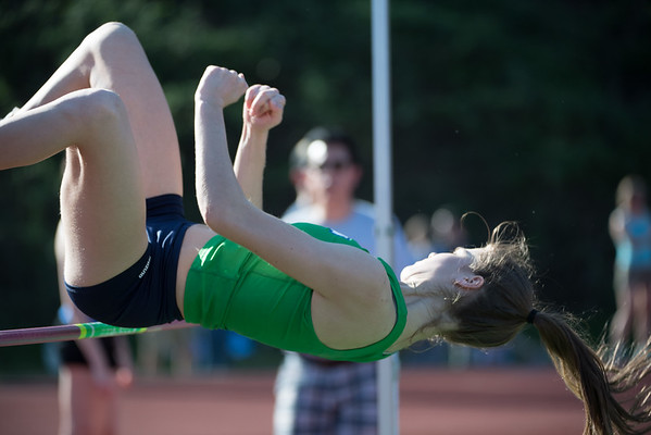 Woodinville March 24 - Womens High Jump