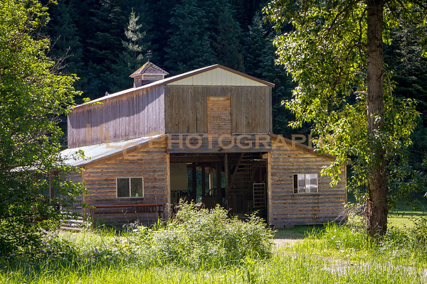 Old Barns in Idaho