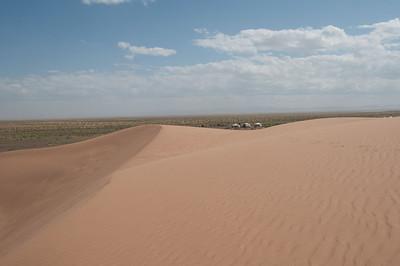 Gobi sand dunes