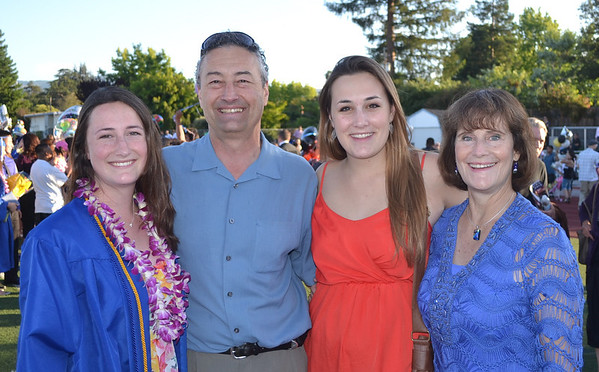 LAHS graduation 2013 -family and friends