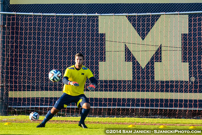 Pre-Match from UM Men's Soccer Vs BGSU 9-16-14