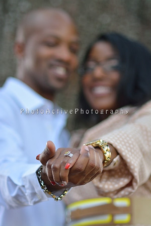 Cortnie & Rasheed's Engagement Session Proofs