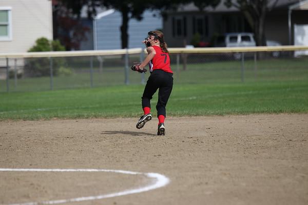 Windsor Locks Girls Softball All Stars  vs  Windsor  6/25/17