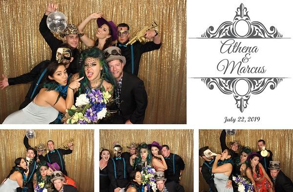 Athena & Marcus Wedding - 7.22.19 - Photo Strip