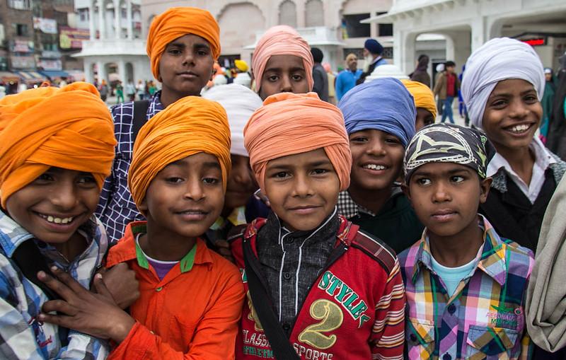 locals in Amritsar