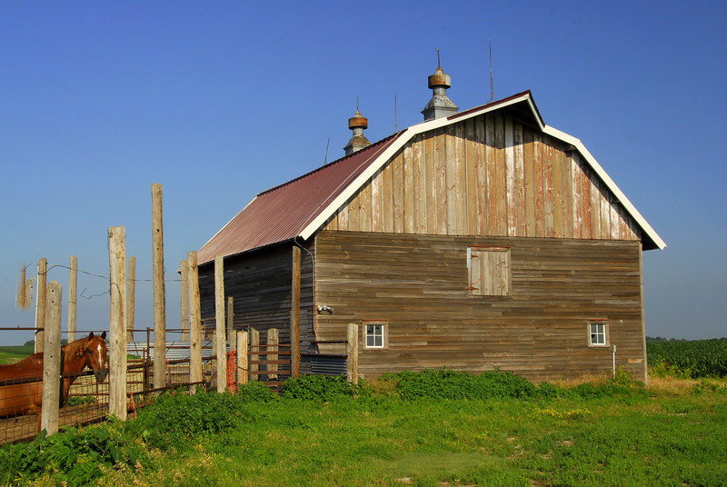 Old Barn with a New Roof