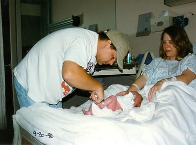 Jack III at Birth 1996