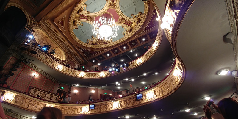 Les Miserables.  Queens theater.  London.
