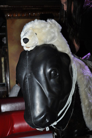 Cadillac Ranch ISVODKA Night Polar Bear Riding
