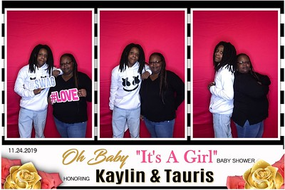 2019.11.23  Kaylin and Taurus  Baby Shower