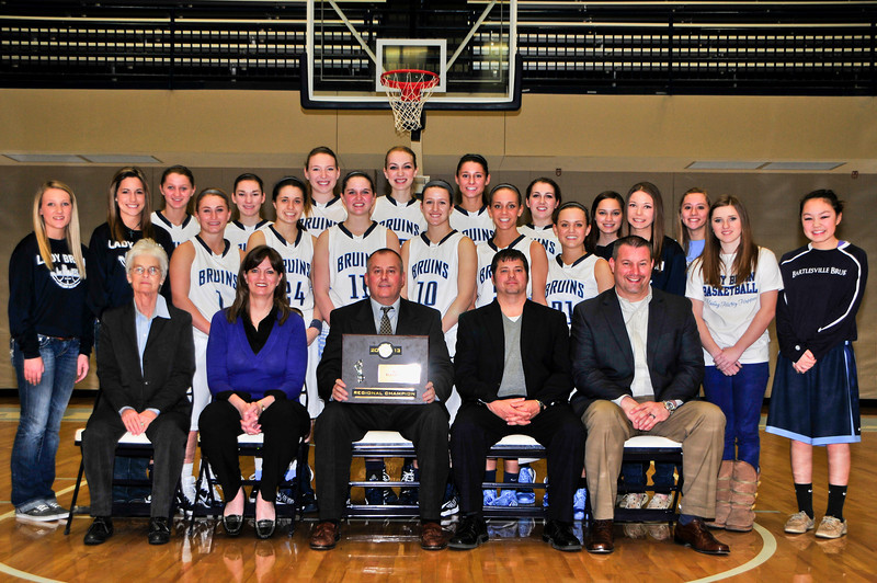 2012-13 Regional Champion Bartlesville Lady Bruins