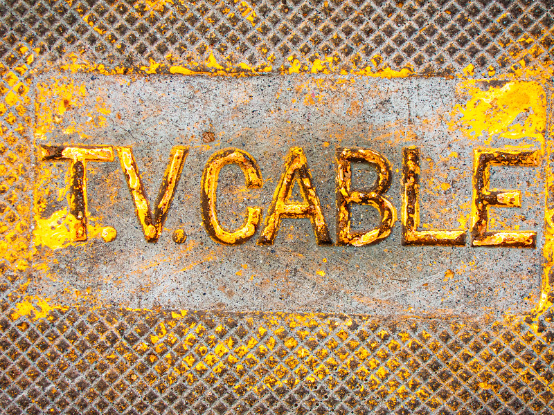 TV Cable, Campbell, California, 2009