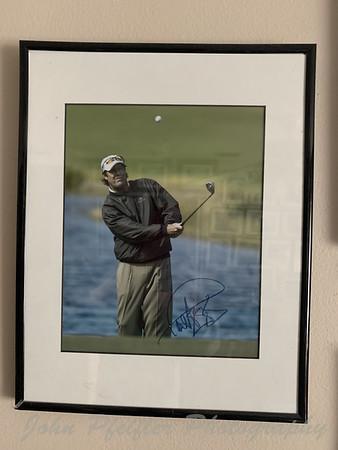 Golf pics signed