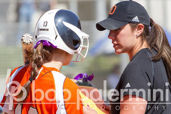 Oxy Softball vs. La Verne 4-12-13