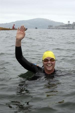 Alcatraz Centurion Swim 2006