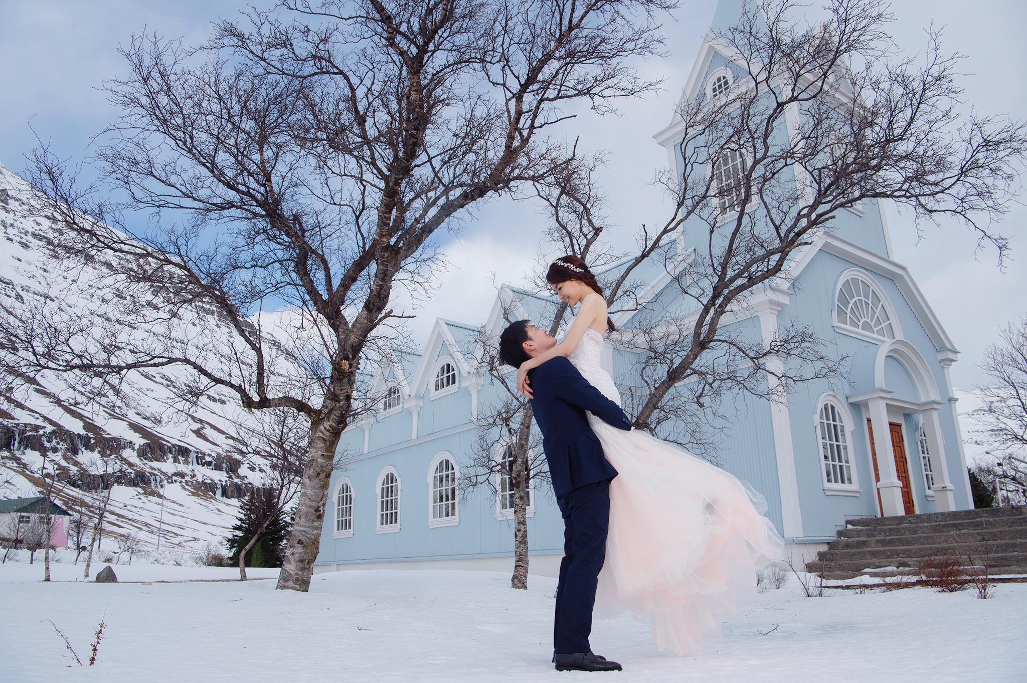 冰島攻略, 冰島婚紗, Donfer, Iceland Pre-Wedding, 塞濟斯菲厄澤, Seyðisfjörður