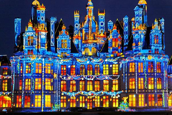 Illuminations de Chambord - Noel 2009