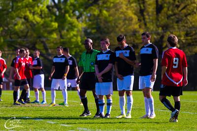 ECU vs NCSU Club Soccer Game