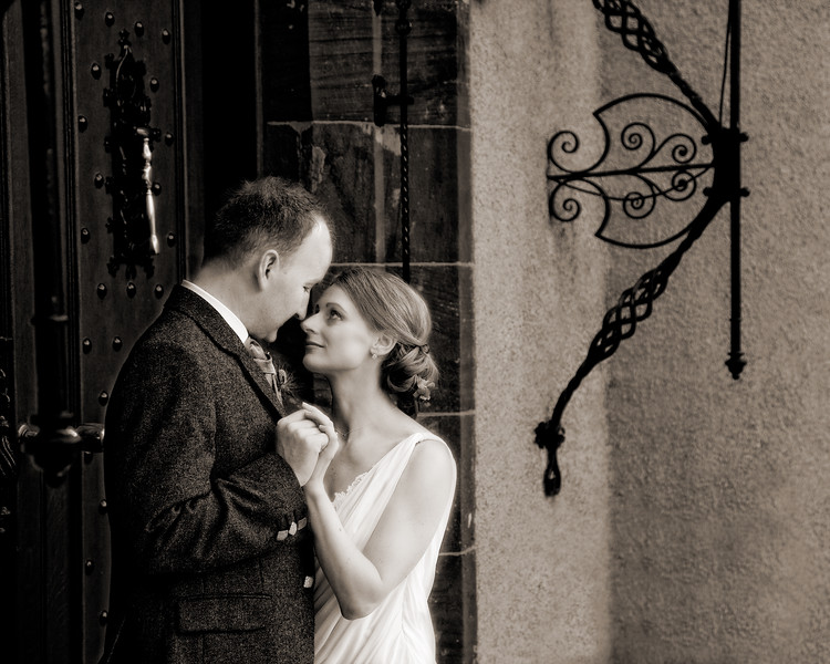 Romantic Wedding Fyvie Castle