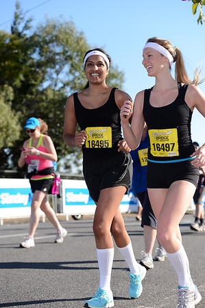 Sunday Mail Suncorp Bridge to Brisbane Fun Run 2012. Unedited Photos by Des Thureson - http://disci.smugmug.com