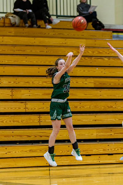 Holy Family Varsity Girls Basketball vs. New Prague, 1/24/20: Berkley Neubauer '24 (32)