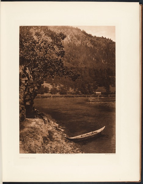 The North American Indian, vol. 9 suppl., pl. 327. Cowichan River