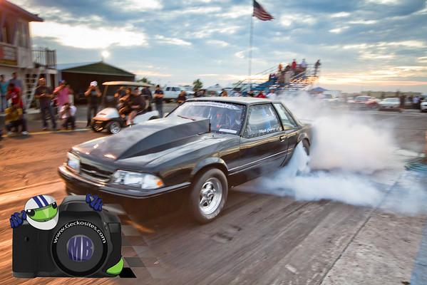 Black 88 Mustang