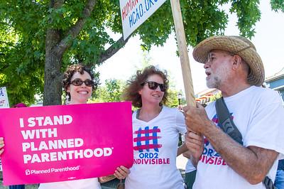 Flash Health Care Rally in Ashland, July 29/17