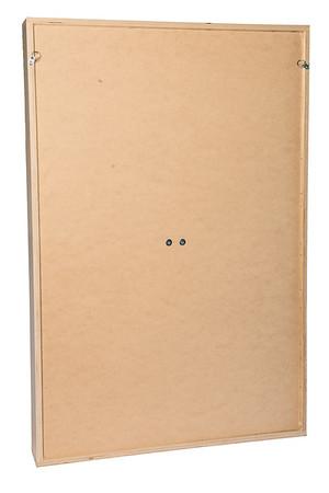 Plain board back